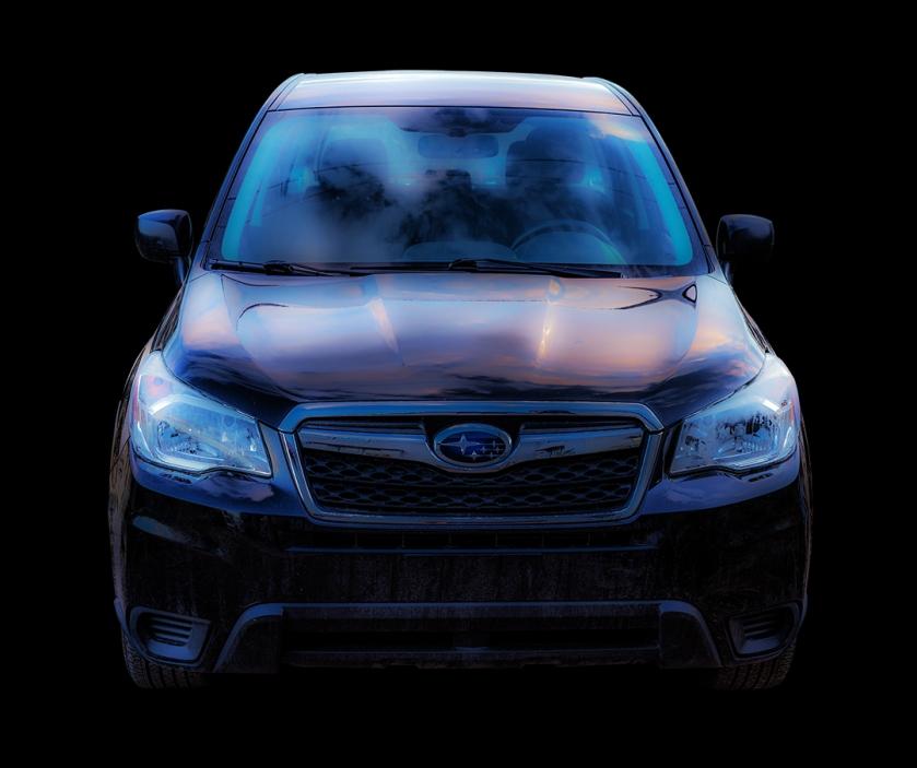 laura's car sunset blog centered