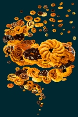 spiral donuts